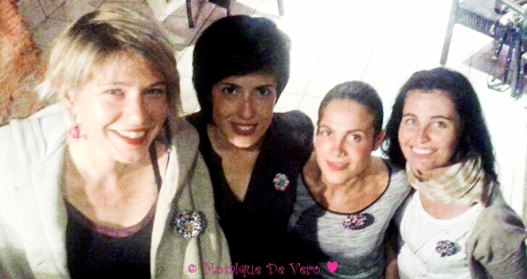 Mosaique De Vero ♥ (Marie, Itahisa, Irene, Ade - broches)