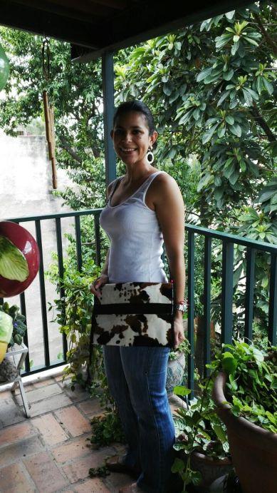 sac à main, mosaiquedevero, mosaique de vero, créatrice, couture, bolso, vaca, peau de vache, piel de vaca, toulouse,