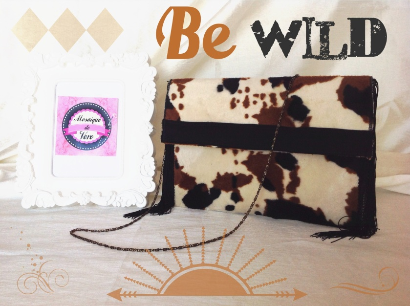 mosaique de vero, mosaiquedevero, pochette, bolso, bolso sobre, sac à main vache, bolso vaca, bolso cabaret, bolso original, sac à main original
