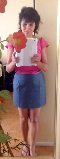 jupe, mosaiquedevero, mosaique de vero, falda