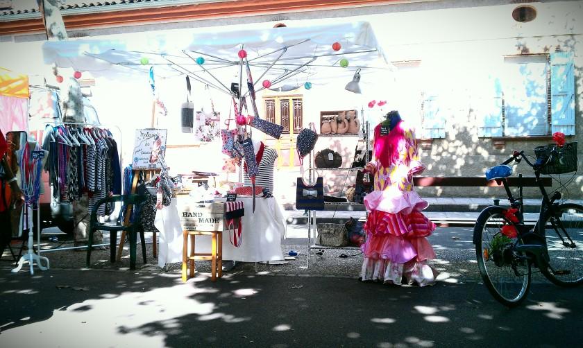 mosaique de vero, créatrice, toulouse, marché, festival mediterraneo, portet sur garonne,