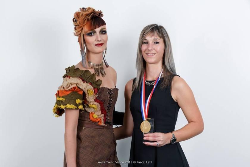 concours, trendvision, 2015, FW, uncharted territories, lisa bottarel, coiffure, mosaique de vero, créatrice, toulouse, tenue, sur-mesure,